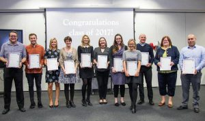 The Slimming World 'Leadership in Action' graduates
